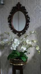 Moldura Decorativa em Resina com Espelho (NOVO)