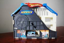 Hot Wheels Deluxe Super Service Center Playset