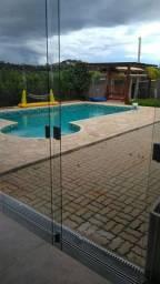 Chácara completa, piscina aquecida, poço artesiano!!!