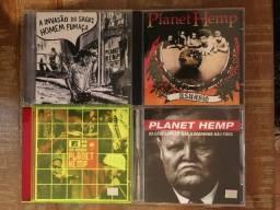 Coleção Cds Planet Hemp