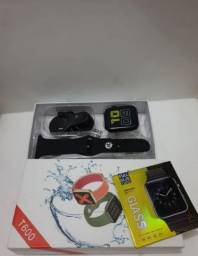 Relógio Smartwatch T600 Iwo 12/ Película + Capa De Brinde