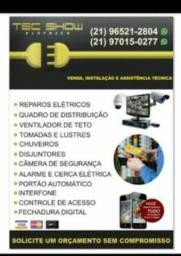Instalador de ventilador teto e Eletricista