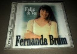 CD Fernanda Brum - Feliz de Vez - Raridade