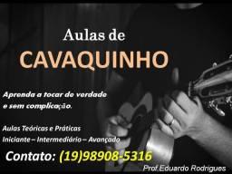 Aulas de Cavaquinho
