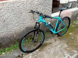 Bicicleta ksw freio hidráulico