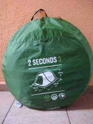 Barraca Quechua 2 seconds easy / 3 pessoas