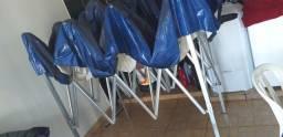 Tenda sanfonada 2x3 lona de vinil