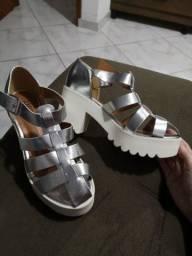 Sandália tratorada Amie Shoes