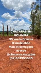 CHÁCARAS EM GOIANIRA