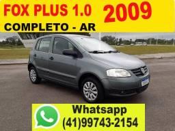 VW Fox Plus 1.0 4P 2009 * Completo - Ar *Aceito Troca * Financio