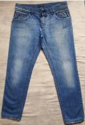 Calça jeans dolce&gabbana placa da marca