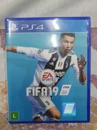 Jogo FIFA 19 original PS4 usado
