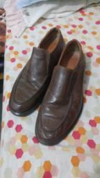 Sapato de couro legítimo ( masculino) N' 42\43