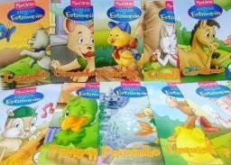 Kit animais de estimação com 10 mini livros