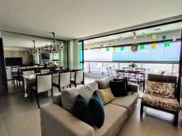 Apartamento 190m² jardim oceania - vista definitiva do mar