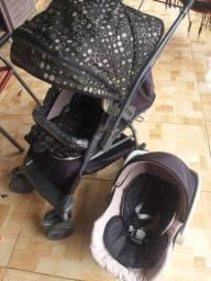 Carrinho+Bebê conforto galzerano