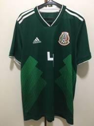 Camisa México Copa 2018