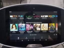 Tablet de mesa Clazio Multimidia Android com assistente virtual