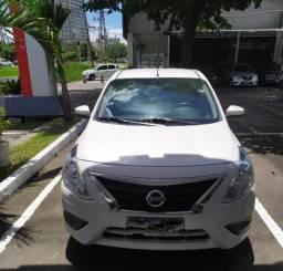 Nissan versa sed automático 2020 branco novo flex completo