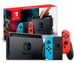 Nintendo Switch 32gb Modelo Novo Extend Battery-neon