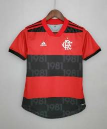 Camisa Oficial do Flamengo Feminina