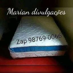 Título do anúncio: Mega oferta ( frete grátis ) cama casal luxo nova e acolchoada