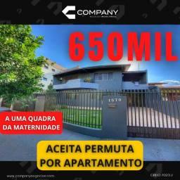 Título do anúncio: Vendo Sobrado próximo ao Hospital Maternidade em Medianeira - Apartamento
