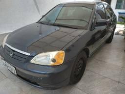 Título do anúncio: Vendo Honda Civic 1.7 Manual - Gasolina