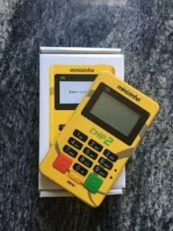 Maquininha Minizinha chip2 PagSeguro