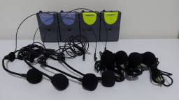 Kit de microfones wireless profissional GTD Audio G-313L.
