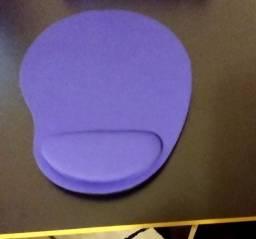 Mouse Pad com Almofada para Pulso