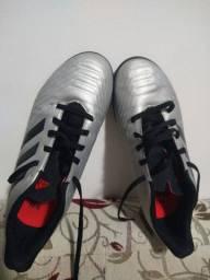 Chuteira Society Adidas Predator 19 4 TF - Preto<br>40