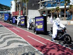 Carretinha reboque pra moto - carga e publicidade