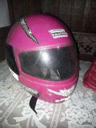 Capacete Valecross Rosa Pink