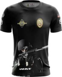 Camiseta Camisa Swat Police - Swa (uso Liberado)