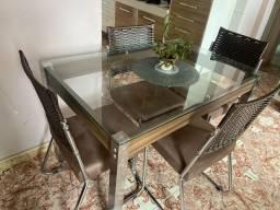 Mesa completa de jantar