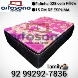 Fofinha D28 com Pillow 15cm de Espuma