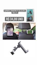 Suporte para celular e tablet traseiro 35 reais