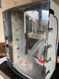 Churrasqueira arke a gas giratoria para 5 espetos
