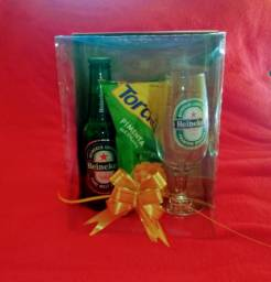 Taça kit cesta para dia dos Namorados