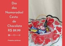 Cestas de chocolates Para os dias dos Namorados -Ultimas Unidades