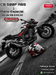 Moto Honda CB 500F ABS