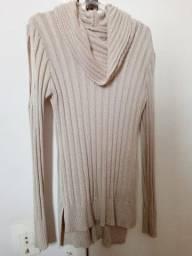 Blusa frio de lã