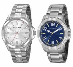Título do anúncio: Relógio Mondaine Masculino, 50 metros. Nota fiscal. Valor: 170,00 cada. 100% Originais.