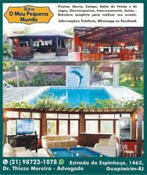 Título do anúncio: Alugo Sítio em Guapimirim-RJ para Festas, Eventos e Temporada