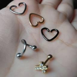 Piercings novos