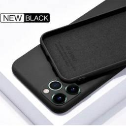 Capa (capinha) Silicone Premium iPhone 11 Proteção Câmera