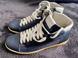 Título do anúncio: Tênis Armani Jeans - Tênis Diesel Vinil Branco - Tênis Diesel Cinza