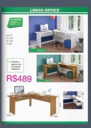 Título do anúncio: Mesa computador de canto