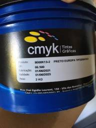 Título do anúncio: Tinta Tipográfica - Preto Europa - 2kg